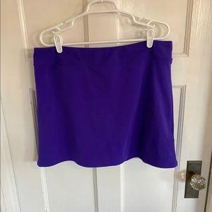 Adidas Golf purple skort size 14